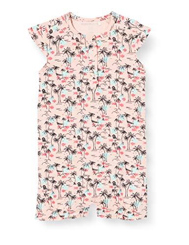 Noppies Baby-Mädchen G Playsuit Short Cortland AOP Spieler, Mehrfarbig (Impatience Pink P029), (Herstellergröße: 80)