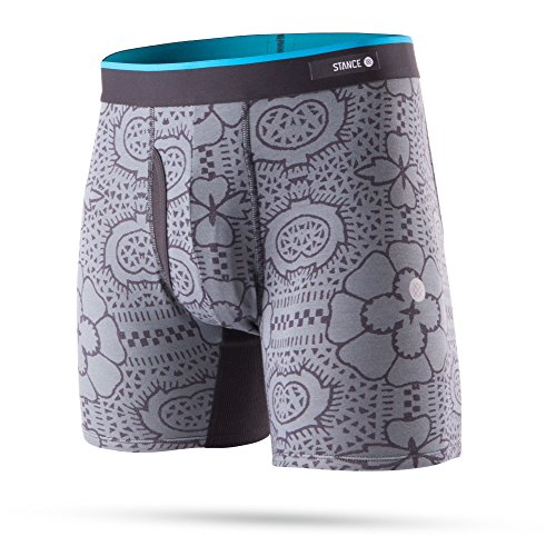 Stance Boxers - Stance Tile Check Butter Blend ...