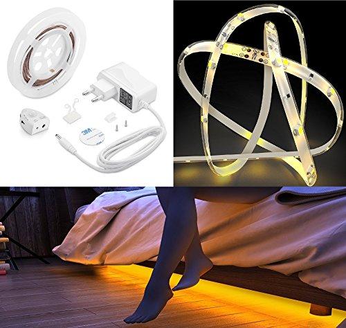 I Détecteur de mouvement lumens Veilleuse LED 1,2 m Film autocollant bandes DIMM Bar Capteur crépusculaire 1638