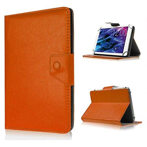 UC-Express Tablet Tasche für Medion Lifetab P8514 P8314 P8312 P8311 S8312 S8311 Hülle Case, Farben:Braun