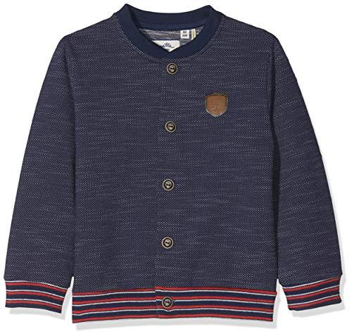 Sanetta Sanetta Baby-Jungen Sweatjacket Sweatjacke, Blau (Deep Blue 5993), 68 (Herstellergröße: 068)