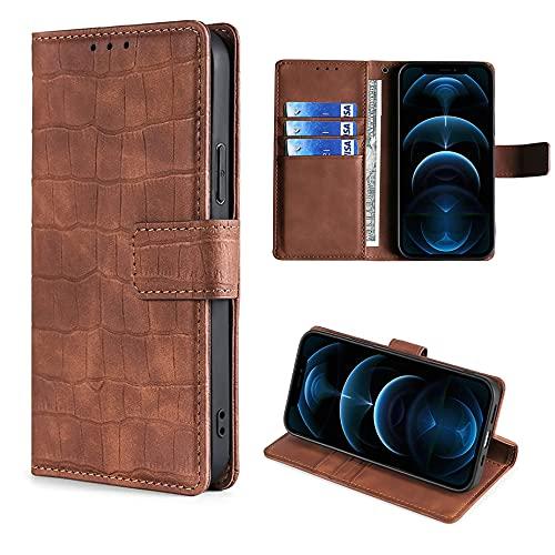 HUAYIJIE GKFGEY Flip Funda para Sony Xperia XZ Premium Funda Carcasa Case Cover [marrón]