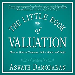 The Little Book of Valuation Titelbild