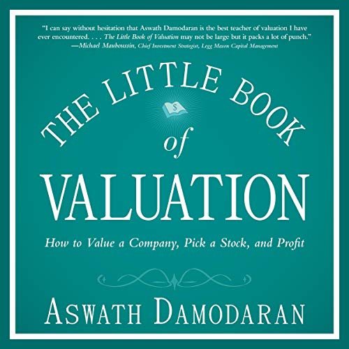 The Little Book of Valuation audiobook cover art