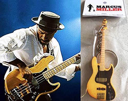 Schlüsselanhänger Gitarre Bass Fender Marcus Miller Jazz Bass Natur