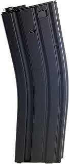 SportPro Jing Gong 450 Round Metal High Capacity Long Magazine for AEG M4 M16 Airsoft – Black