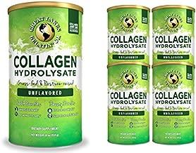 Great Lakes Gelatin, Collagen Hydrolysate, Unflavored Beef, Kosher, 16 Oz 4-Pack