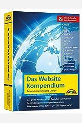 Das Website Handbuch - komplett in Farbe, Programmierung und Design Gebundene Ausgabe