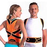 ZSZBACE Corrector de Postura Soporte de Espalda y Hombro para Mujeres y Hombres Mejora la Postura Alivio del Dolor de Espalda (XXL)