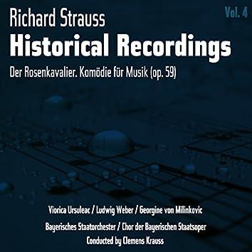 Richard Strauss: Historical Recordings, Volume 4