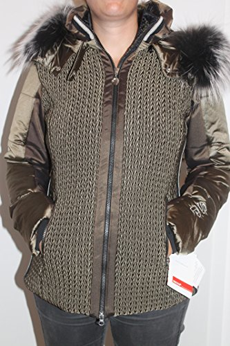 Sportalm Kitzbühel Semiflumes Supreme Winter Ski Jacke Mantel mit Echt Fell Neu mit Etikett (34)