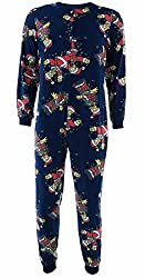 Briefly Stated Men's Simpsons Christmas Lights Onesie