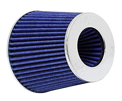 K N Filter & RG - 1001BL-L KFZ und Motorrad Universal-Luftfilter, verchromt