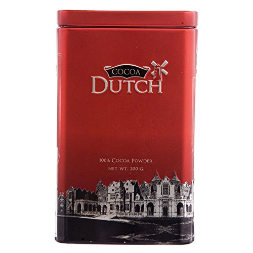 Cocoa Dutch, 100% Cocoa Powder, net weight 200 g (Pack of 1 piece) / 8y KK