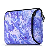 Sancyacc Laptop Sleeve, Sleeve Bag for 15-15.6 Inch, Water-Resistant Fabric Laptop Case with Pocket for MacBook, Acer Aspire, Toshiba Satellite, Dell, Chromebook Notebook (Dark Blue)