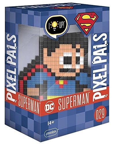 PDP - Lampara de sobremesa Pixel Pals DC Comics Superman (PS4)