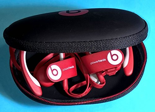 22 pcs. Beats Powerbeats 2 and Powerbeats 3 Replacement Earbuds Eargels Eartips Cushions Black, Black/RED 6S/6M/6L/4Cones and 1 Protective Carrying Hard Case by General 5