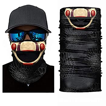 Sun UV Protection Face Mask Five Nights at Freddy s Marionette Balaclava Halloween Tube Mask Neck Gaiter  FNAF Marionette