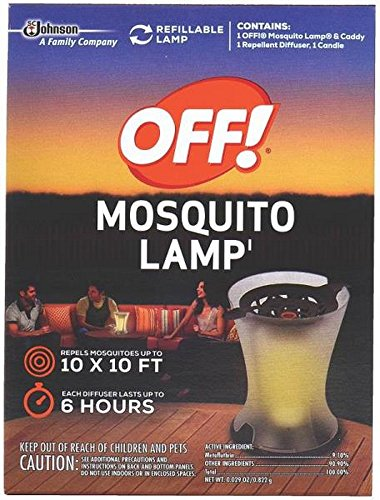 S C Johnson Off Mosquito Lamp ,pack of 4