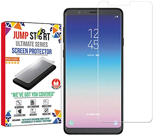 Jump Start Samsung A8 Star Tempered Glass Screen Protector 3D Touch Case Friendly for Samsung Galaxy A8 Star