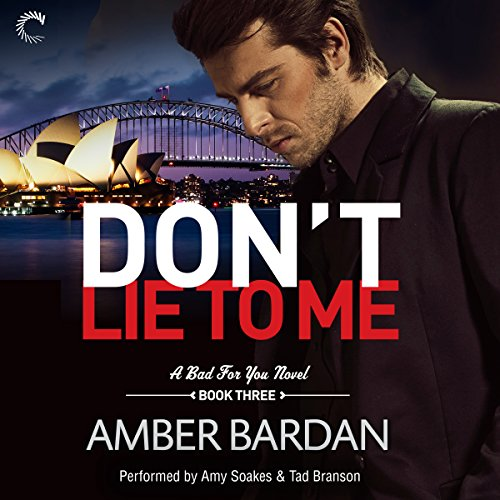 Don't Lie to Me audiobook cover art