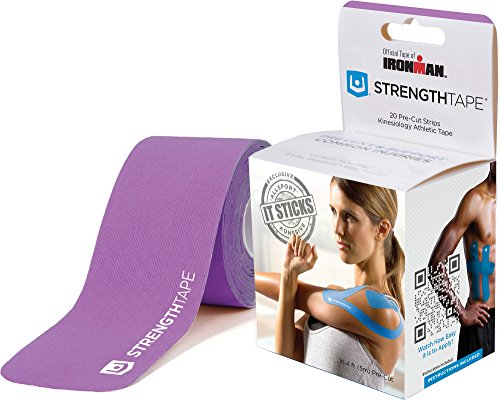 StrengthTape Precut Roll Kinesiology Tape