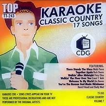 Top Tunes Karaoke CD+G Classic Country Vol. 7 TT-243