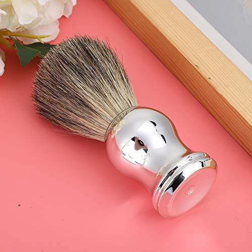 Brocha de afeitar Limpieza facial suave de alta calidad Brocha de afeitar para hombres Apta para la piel Uso doméstico portátil para uso en salones Herramienta de aseo Uso en viajes
