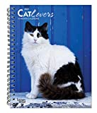 Cat Lovers 2021 6 x 7.75 Inch Spiral-Bound Wire-O Weekly Engagement Planner Calendar | New Full-Color Image Every Week | Animals Domestic Cats