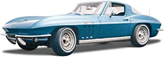 Maisto 1965 Chevy Corvette, Blue 31640 - 1/18 Scale Diecast Model Toy Car