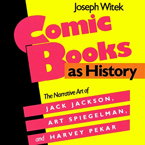 Comic Books as History audiobook cover art