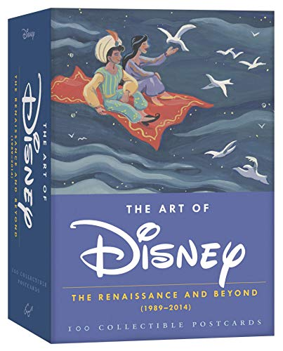 Art of Disney: The Renaissance and Beyond (1989-2014). Postcard Box: The Renaissance and Beyond (1989-2014) 100 Collectible Postcards (The Art of)