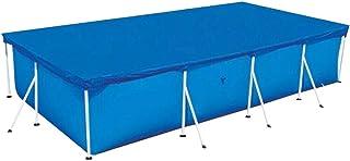 Cubierta para Piscina Cubierta de Protección Contra la Lluvia a Prueba de Lluvia, Cubierta de Protección de Piscina Resistente a los Rayos UV Duradera para Evitar Hojas (Rectangular 220X150CM)