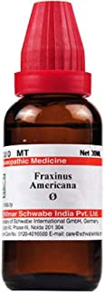 Willmar Schwabe Homeopathy Fraxinus Americana c Mother Tincture Q (30 ML) by Qualityexport