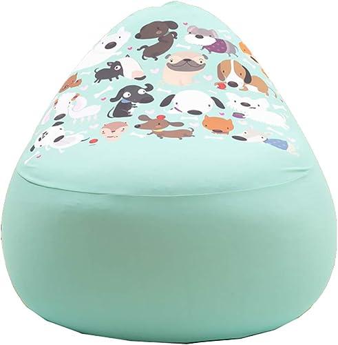 Der Geschmack von zu Hause Ultra Soft Bean Bag Stuhl - EPP Partikel Bean Bag Stuhl mit Stoffbezug - gefüllte Schaumstoff gefüllte M l und Zubeh für Wohnheim Zimmer (Farbe   Style1)