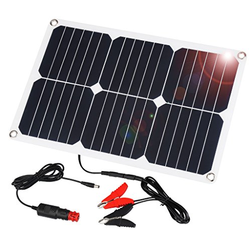 SUAOKI 18 Watt 12 Volt Waterproof Solar Car Battery Charger