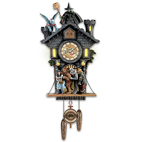 The Bradford Exchange All in Good Time, My Little Pretty Cuckoo Clock with Barking Toto