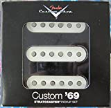 Fender フェンダー CS Custom Shop '69 Stratocaster SET of 3 ストラトキャスターギター用ピックアップ 『並行輸入品』