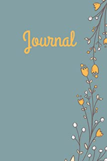 Journal: 6x9 Journal for Writing Down Daily Habits, Diary, Notebook (The perfect gift Book)