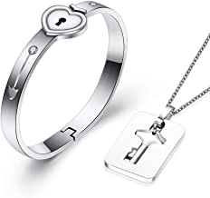 Best bracelet with lock and key Reviews