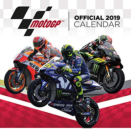 MotoGP Officially Licensed 2019 Square Calendar