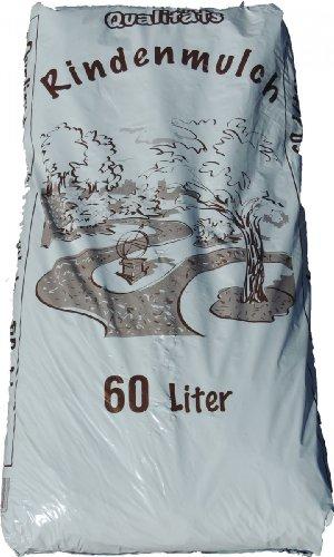 Qualitäts Rindenmulch 60 Liter (1 Liter = 0,17 EUR)