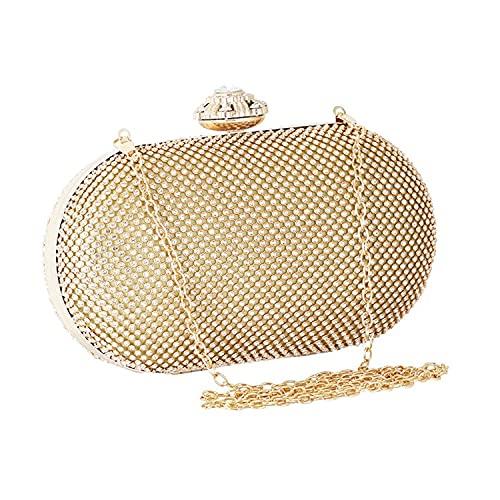 Clutch Purse for Women Rhinestone Glitter Evening Bags Handbag for Dance Wedding Party Prom Bride