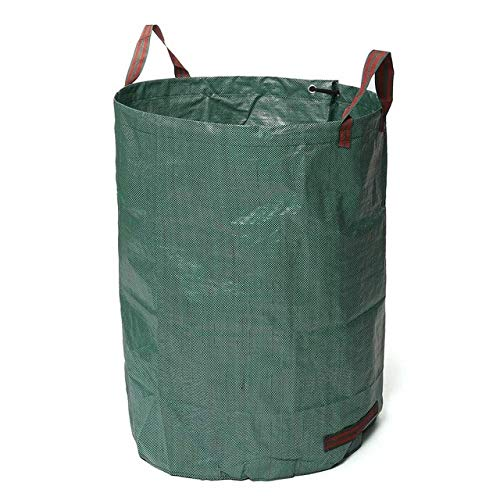 Find Discount AloPW Yard Waste Bags 120L/300L/500L Large Capacity Heavy Duty Garden Waste Bag Durabl...