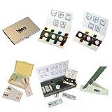 macro Kit Metal Series (Lente per smartphone Blips Macro Plus 5x, lente per smartphone Blips Macro 10x), nastro biadesivo di ricambio, confezione tascabile full Kit Metal Series (Lenti Blips Macro Plus, Macro, Micro e Ultra), nastro biadesivo di rica...