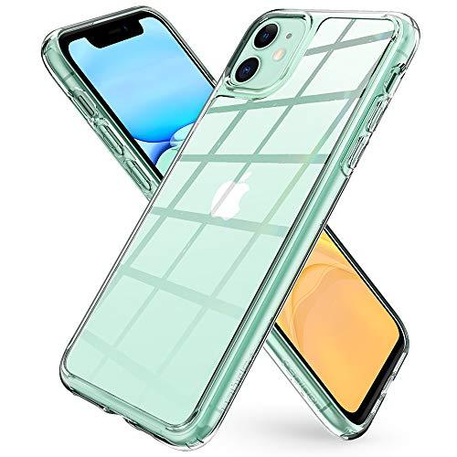 Spigen Funda Quartz Hybrid Compatible con iPhone 11 - Transparente
