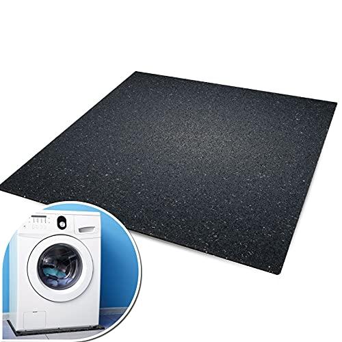 kör4u® Premium Antivibrationsmatte   60x60x1 cm   geeignet als Waschmaschinenunterlage, Schallschutzmatte, Gummimatte, Schwingungsdämpfer - zuschneidbar   made in Germany