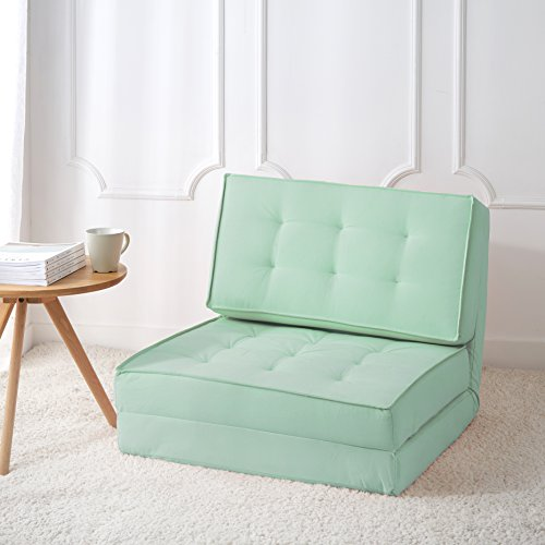 Urban Shop Canvas Sofabed, Mint