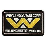 Weyland Yutani Building Better Worlds Alien Hook Patch (4.0 x 2.5 - MLY-7)