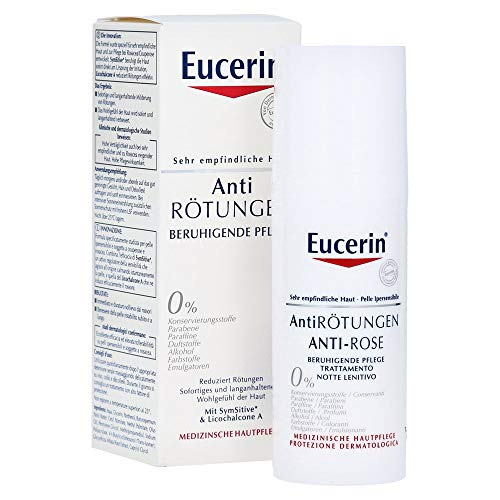 Eucerin Rustgevende verzorgingscrème, tegen roodheid, 50 ml